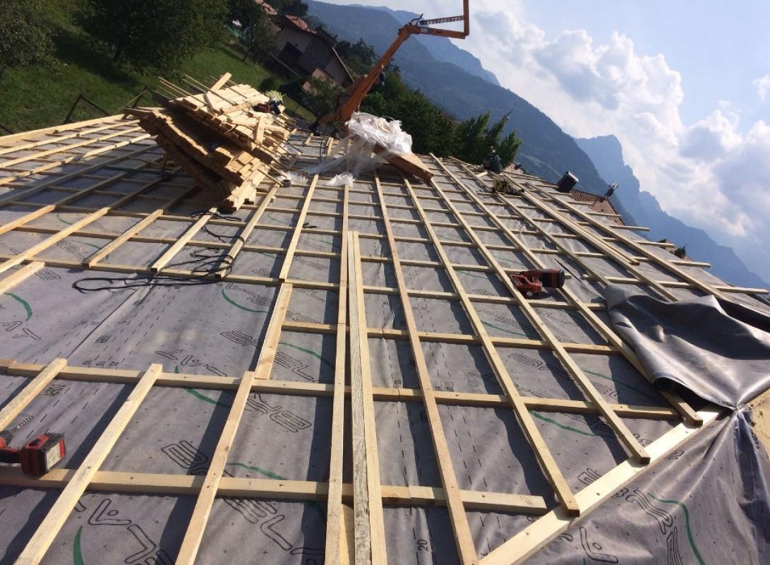 Surélévation d'une toiture | Réalisations
